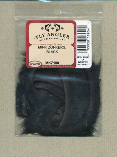 Mink zonkers black     MKZ100