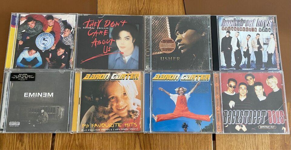 Eminem, Aaron Carter, Usher