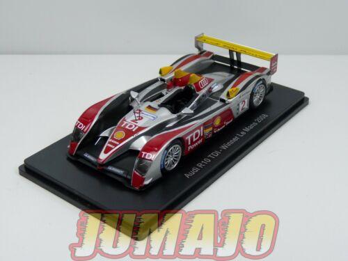 Audi R10 Winner 2008 Capello Shell 24H85G 1//43 HACHETTES 24 Heures Le Mans