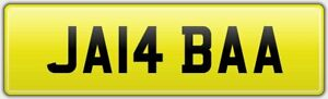 JABBER-PRIVATE-CAR-REG-NUMBER-PLATE-JA14-BAA-FEES-PAID-JAB-JABBAR-JABBA-JABBS