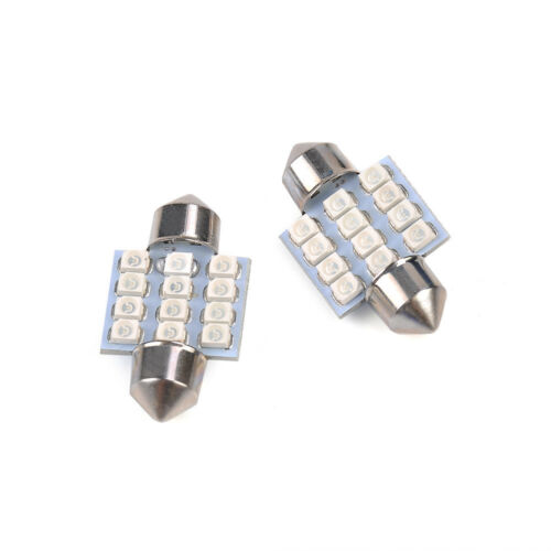 13* Auto Car Accessories Interior LED Lights For Dome License Plate Lamp 12V Kit