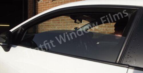 PREMIUM MEDIUM 20 75cm x 1m BLACK SMOKED CAR OFFICE WINDOW TINTING FILM