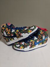 098213b0 item 5 Nike SB Dunk High TRD QS Ugly Christmas Sweater concepts lobster  blue Size 8.5 -Nike SB Dunk High TRD QS Ugly Christmas Sweater concepts  lobster blue ...