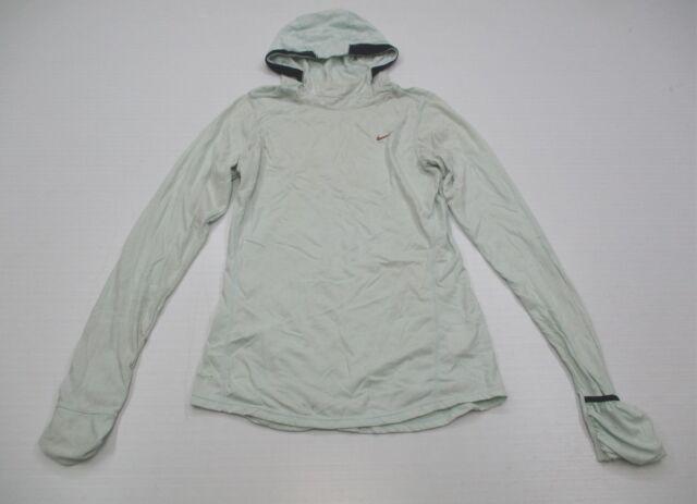 487cf59018e6 NIKE DRI FIT K1333 Women s Size XS Pullover Knit Mint Green Hoodie Running  Top