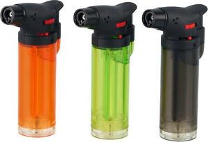 Cool lighter Jet-Burner 1er Jet Power Jet / 3 Colors Transparent