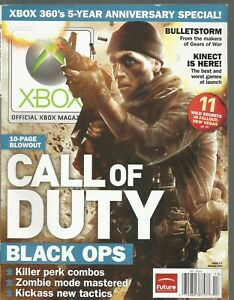 Official XBOX Magazine (Holiday 2010) CALL OF DUTY BLACK OPS
