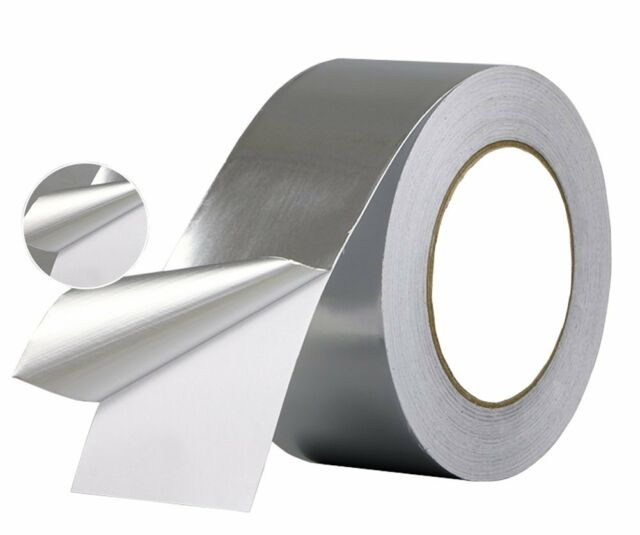 Aluminum Foil Tape- best for HVAC, Ducts, Insulation and Heavy Duty Aluminum