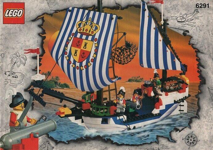 Lego Pirati 6291 Spaniard Ship/Armada Flagship   Visita il mio Negozio