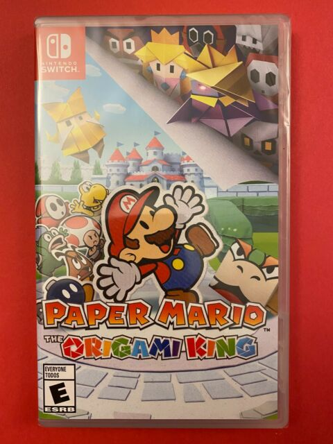 NEW & Retail Sealed: Paper Mario: The Origami King for Nintendo Switch (2020)