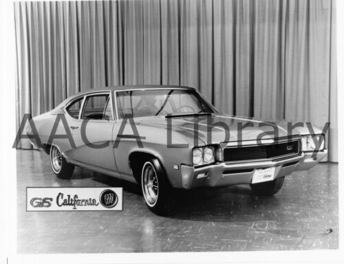 1968 Buick GS California Coupe at auto show Ref. # 28742 Factory Photo