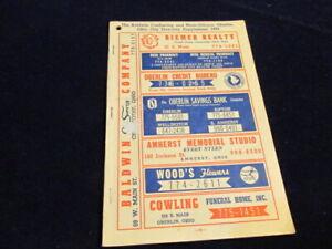 Vtg-1970-Oberlin-Ohio-City-Directory-Telephone-Book-Baldwin-ConSurvey-Q472