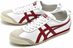 Onitsuka-Tiger-MEXICO-66-Men-039-s-Sneakers-Casual-Shoes-Fashion-White-D4J2L-0125