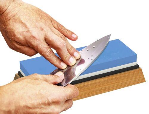 Piedra Japonesa Para Afilar Cuchillos De Grado Profesional Base Antideslizante