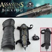 Assassin's Creed 4 Black Flag Pirate Hidden Blade Edward Gauntlet Cosplay No Box
