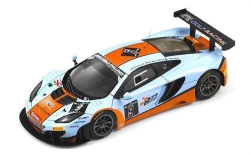 2013 McLaren 12C GT3 Gulf Racing in 1 43 Scale by TSM    TSM144337