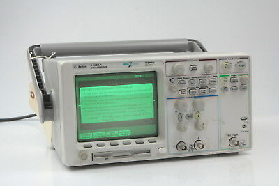 Men's Accessories Clothing, Shoes & Accessories Dedicated Hp Agilent 54622a Oscilliscope 100mhz 200 Msa/s
