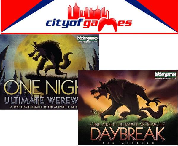 One Night Ultimate Werewolf & Daybreak Bundle Card Game Brand New
