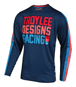 Troy-Lee-Designs-2019-GP-Air-Premix-86-Jersey-Navy-Motocross-Dirt-Bike-MX