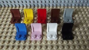 12 Lego Figurine Mini Accessoire Siège Chaise Non 4079 Choisissez la Couleur
