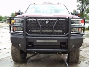 Gmc Elevation 2017 >> New Ranch Style Smooth Front Bumper 2015 2016 Chevy 2500 3500 Silverado 15 16 | eBay