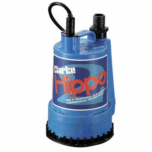 "Clarke 1/"" bomba de agua sumergible Hipopótamo 2-230V"