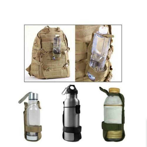 Tactical Military Molle System Water Bottle Bag Kettle Pouch Holder Outdoor LP