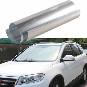 20 x 10ft scratch resistant reflective side rear window for 20 reflective window tint