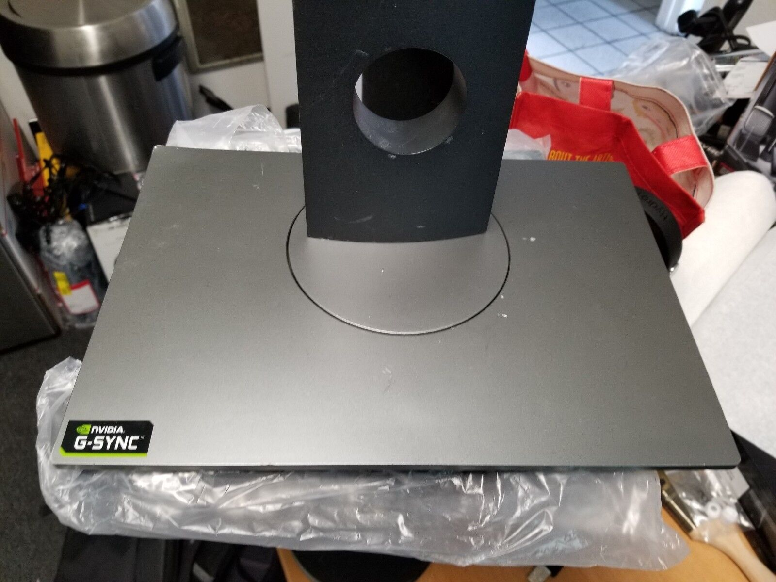 """Dell Fully Adjustable Monitor Base Stand For 27/"""" S2716DGR G Sync"""