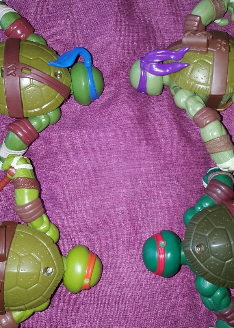 Teenage Mutant Ninja Turtles Power Sound Sound Sound FX Action Figure Playset (Viacom, 2012) 0183a3
