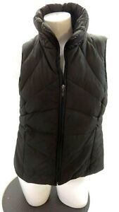 KENNETH-COLE-REACTION-WOMEN-039-S-BROWN-DOWN-INSULATED-PUFFER-SKI-VEST-SIZE-L