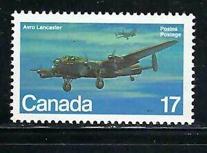 CANADA - SCOTT 874 - VFNH - MILITARY AITCRAFT - AVRO LANCASTER (1941) - 1980