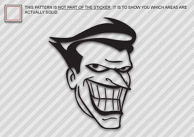 JOKER Sticker Decal Die Cut vinyl batman animated 2
