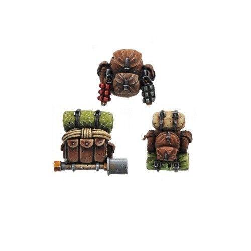 Ork War2 6 große Rucksäcke Ork Bitz Kromlech