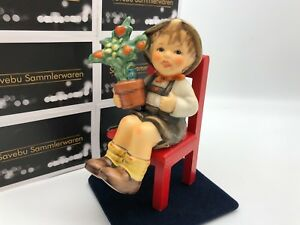 Hummel-Figurine-699-Many-Thanks-For-Everything-4-7-8in-1-Choice-Top-Condition