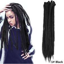 20inch Synthetic Crochet Braid Dreads Handmade Africa Dreadlocks Hair Extensions