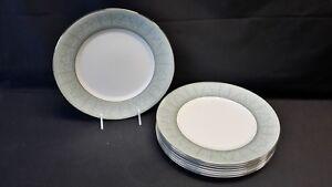 Wedgwood-England-Bone-China-Kenilworth-Set-of-8-Dinner-Plates
