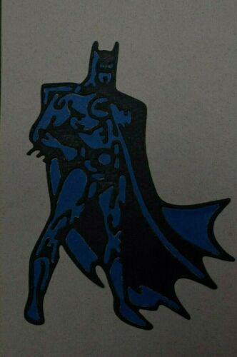 Large Batman Card Making **UK Seller** A7 Metal Cutting Die Superhero
