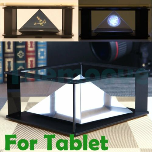 Durable Tablet 3D Holographic Hologram Display Stand Projector for iPAD