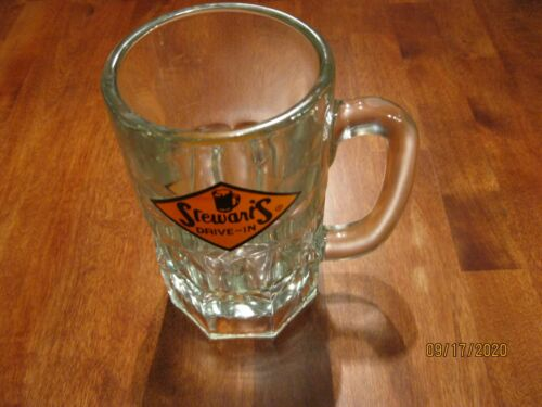 VTG 6 Inch STEWART/'S DRIVE-IN Root Beer Mug MINT Condition Low Price 2lbs 8oz