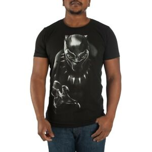 07162b45a Black Panther Mens Tee T-Shirt Marvel Comics Avengers Movie ...