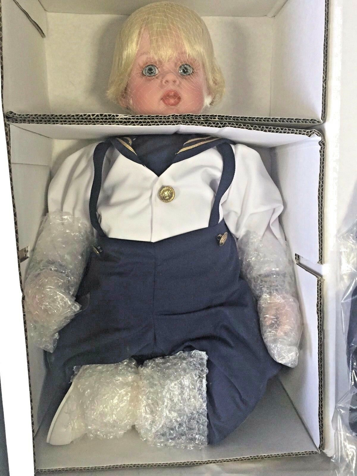 Preciosa reliquia muñecas FAYZAH SPANOS Collection  All American Jacques  NUEVO en Caja