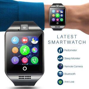 Bluetooth Smartwatch Handy Armbanduhr Mit SIM Slot+Kamera Für Android iOS Neu DE