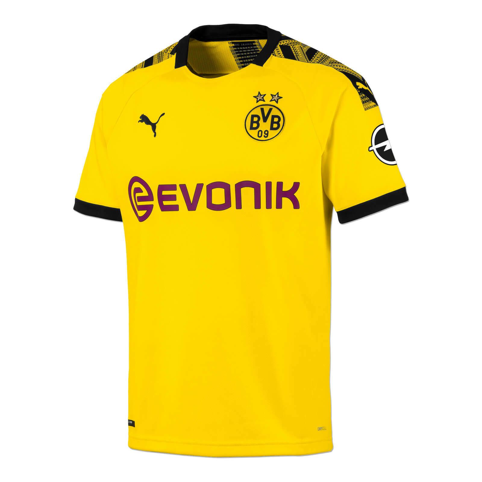 BVB-Trikot 19 20 (heim, kurzarm) Gelb Borussia Dortmund