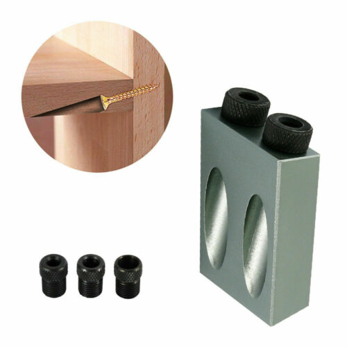 Details about  /CLEARANCE LOT POCKET HOLE JIG 6 8 10 mm WOOD JOINTS SECRET SCREW JOINING TOOL XY