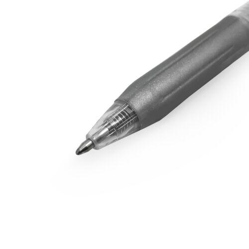 1.0mm 6 X Zebra Sarasa Clip Gel Kugelschreiber Metallic Gold Und Silber