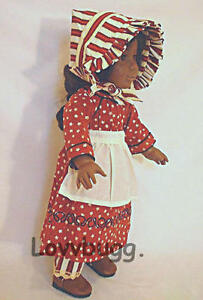 """Made in USA Cream Pantaloons for 18/"""" American Girl Doll Clothes Kirsten Rebecca"""