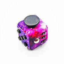 Magic Fidget Cube Camo 6-Side Anxiety Stress Relief EDC Focus Toys Puzzle Purple