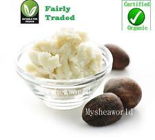 500g Pure Certified Organic Unrefined Shea Butter  *Grade A, Fair Trade & Vegan