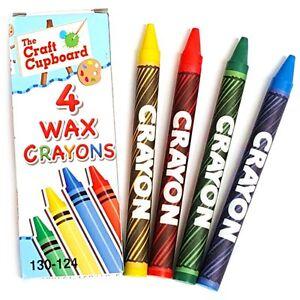 10 ensembles de 4 crayons de cire-idéal pour anniversaires- charges- école- coloration-afficher le titre d`origine