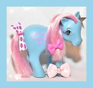 My-Little-Pony-MLP-G1-Vtg-1983-ITALY-Italian-Bow-Tie-Bowtie-Variant-NIRVANA